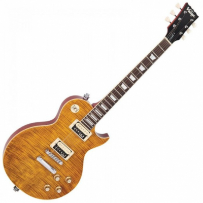 Vintage V100AFD - Gitara Elektryczna Paradise Flamed