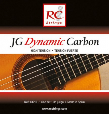 Royal Classics DC10 JG Dynamic Carbon - Struny do gitary klasycznej High tension