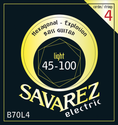 SAVAREZ SA B70 L4 komplet strun do basu elektrycznego