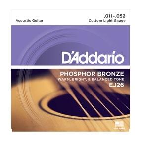 D'Addario EJ26 11-52 - struny do gitary akustycznej
