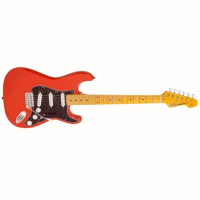 Vintage Gitara elektryczna V6 FIRENZA RED