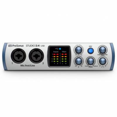 PreSonus Studio 24 - Interfejs Audio USB-C
