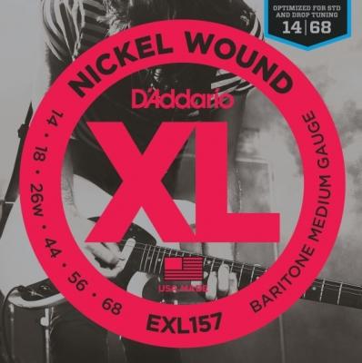 D'Addario EXL157 14-68 - struny do gitary elektrycznej