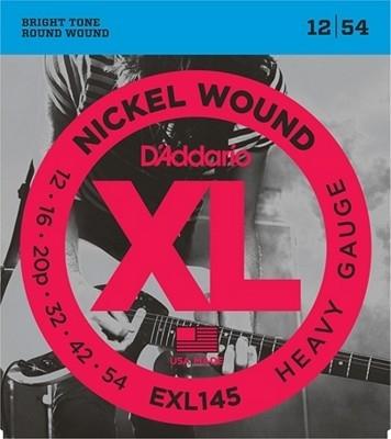 D'Addario EXL145 12-54 - struny do gitary elektrycznej