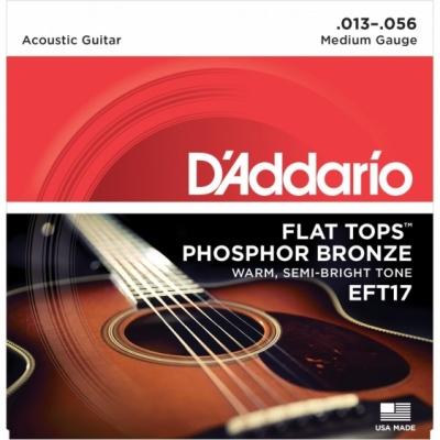 D'Addario EFT17 13-56 - struny do gitary akustycznej
