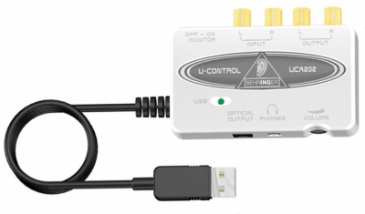 Behringer UCA202 - interfejs audio USB
