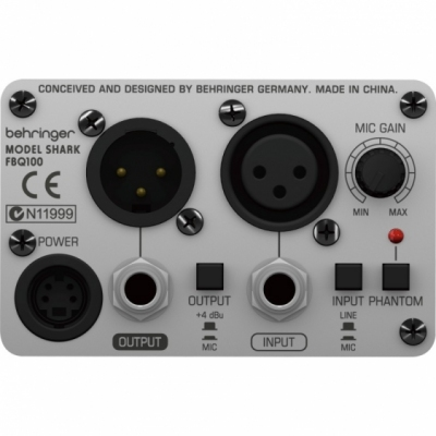 Behringer FBQ100 - cyfrowy eliminator sprzężeń