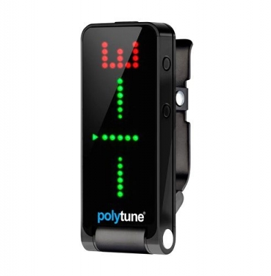 TC ELECTRONIC POLYTUNE CLIP BLACK stroik/tuner polifoniczny