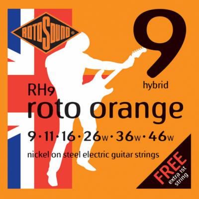 Rotosound RH9 Hybrid Light [9-46] niklowane struny do gitary elektrycznej