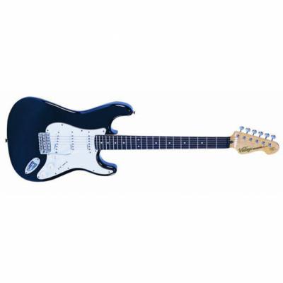 Vintage Gitara elektryczna V6 BLACK