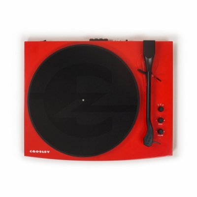 CROSLEY T100A Red - Gramofon
