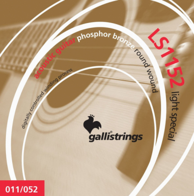 Galli LS1152 Light Special - struny do gitary akustycznej