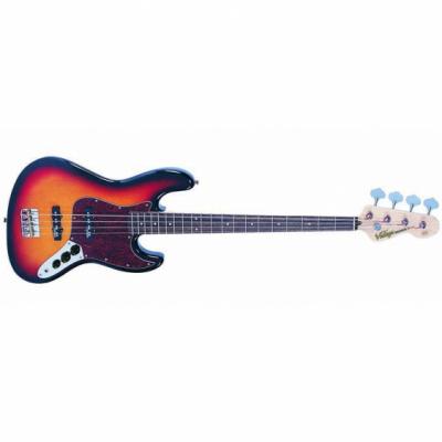 Vintage Gitara basowa VJ74 SUNBURST