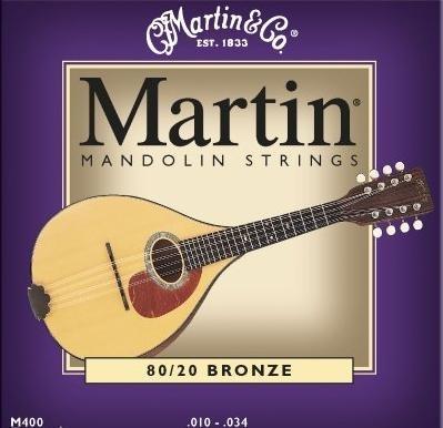 Martin M400 10-34 Bronze - struny do mandoliny