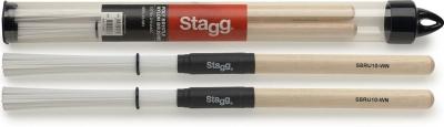 Stagg SBRU10-WN - miotełki perkusyjne-13502