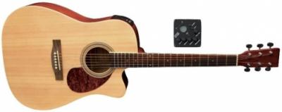 VGS Gitara elektroakustyczna pure D10-CE Natural