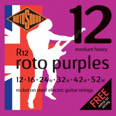 Rotosound R12 Medium Heavy [12-52] niklowane struny do gitary elektrycznej
