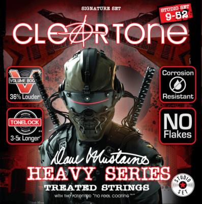 Cleartone struny do gitary elektrycznej DAVE MUSTAINE STUDIO 9-52