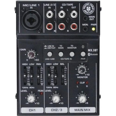 Topp Pro TP MX3BT - mikser analogowy-13590