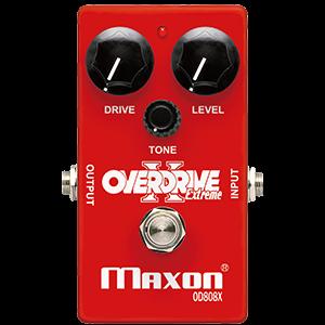 Maxon OD808X Overdrive Extreme efekt gitarowy
