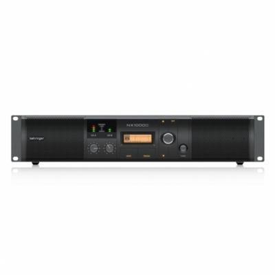 BEHRINGER NX1000D to nowy ultralekki wzmacniacz mocy 1000W w klasie D z procesorem DSP.