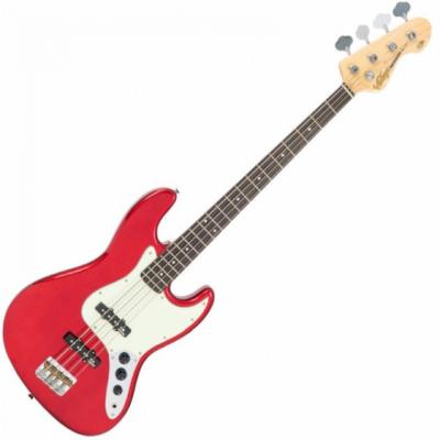 Vintage Gitara basowa VJ74 CANDY APPLE RED