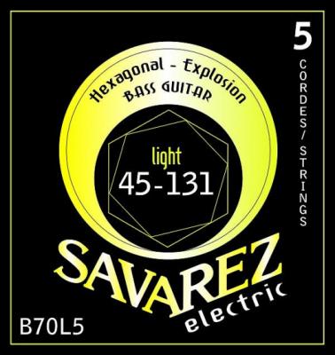 SAVAREZ SA B70 L5 komplet strun do basu elektrycznego