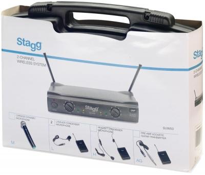 Stagg SUW 50 HH EG EU - bezprzewodowy system UHF-13515