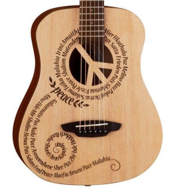 Luna Safari Peace - gitara akustyczna 3/4-2696