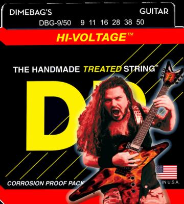 DR struny do gitary elektrycznej HI-VOLTAGE  9-50