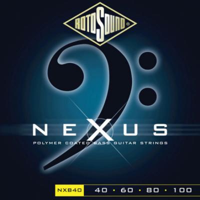Rotosound NXB40 - 4 struny bas [40-100] niklowo-stalowe