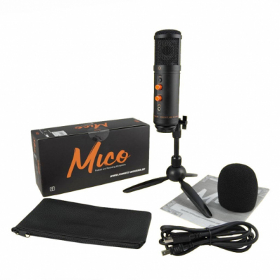 Monkey Banana MICO BK - mikrofon studyjny i do podcastów