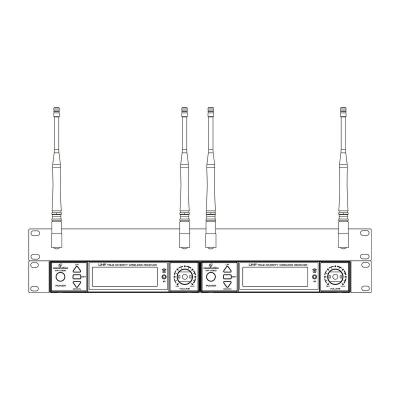 Soundsation WF-RACK KIT2 - zestaw montażowy do systemów bezprzewodowych-12193