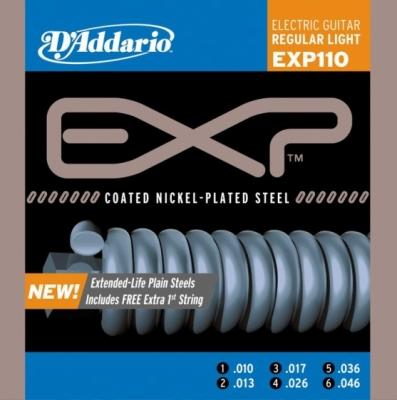 D'addario EXP110 10-46 - struny do gitary elektrycznej