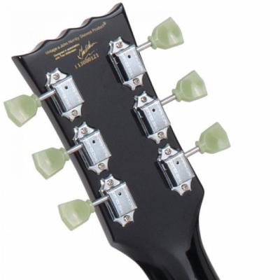 Vintage V100BLK - Elektryczna Gitara Gloss Black