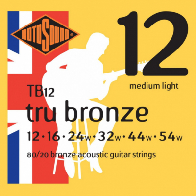 Rotosound TB12 Struny do Gitary Akustycznej 12-54