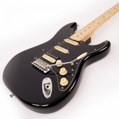 Vintage V6HMBB - Gitara Elektryczna Boulevard Black