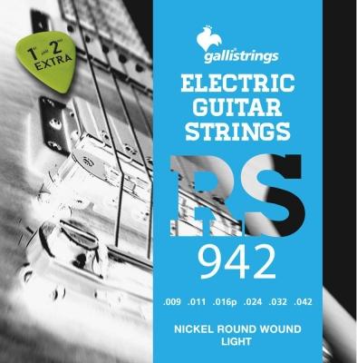 Galli RS942 - struny do gitary elektrycznej  GRATIS-4819