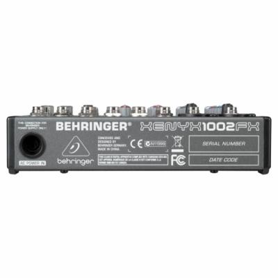 Behringer 1002FX - 10-kanałowy mikser z preampami XENYX