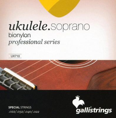 Galli UX710 - struny do ukulele sopranowego-6260
