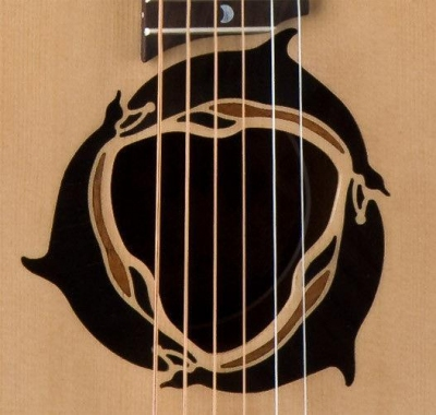 Luna Safari Dolphin - gitara akustyczna 3/4-2681