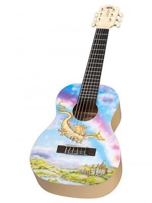 Luna Aurora v2 1/2 Nylon Dragon - gitara akustyczna 1/2-5404