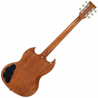 Vintage VS6 - Electric Guitar Natural Mahogany