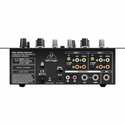 Behringer NOX101 - 2-kanałowy mikser DJ