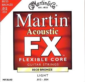 Martin MFX-640 Bronze 12-54 - struny do gitary akustycznej