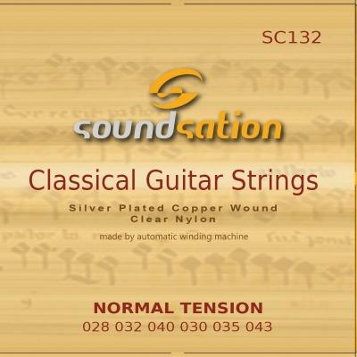 Soundsation SC132 Normal Tension - struny do gitary klasycznej-12554