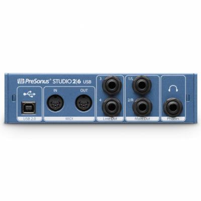 PreSonus Studio 26 - Interfejs Audio USB 2.0