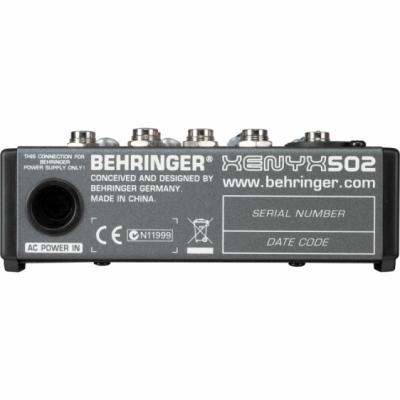 Behringer 502 - mikser z preampami XENYX