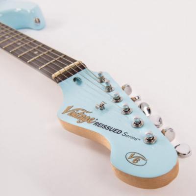 Vintage V6PLB - Gitara Elektryczna Laguna Blue
