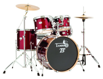 Tamburo T5S18RSSK - akustyczny zestaw perkusyjny